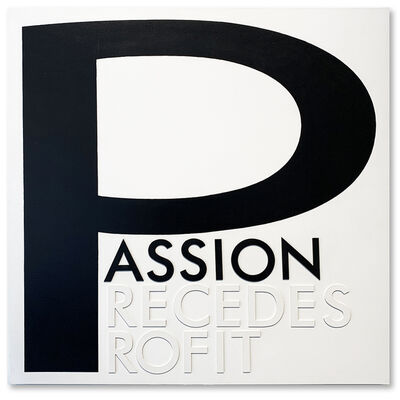 David McCauley, 'Passion Precedes Profit', 2016