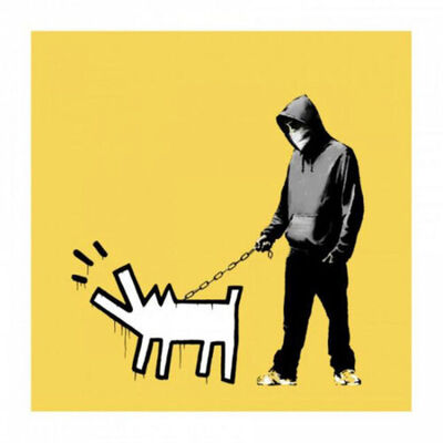 Banksy, 'Choose Your Weapon (Soft Yellow) - Signed', 2010