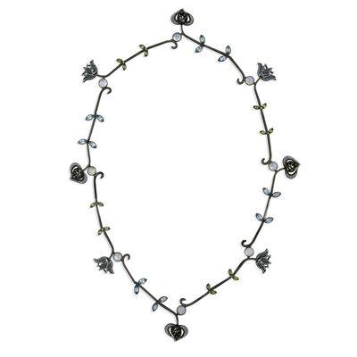 William Ehrlich, 'Tulip Pomegranate Necklace'