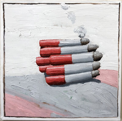 Emilio Villalba, 'Bundle of Smokes', 2018