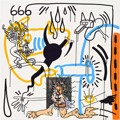Keith Haring, 'Apocalypse (Plate 8)', 1988