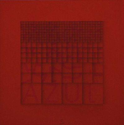 Paola Di Bello, 'Azul', ca. 1980