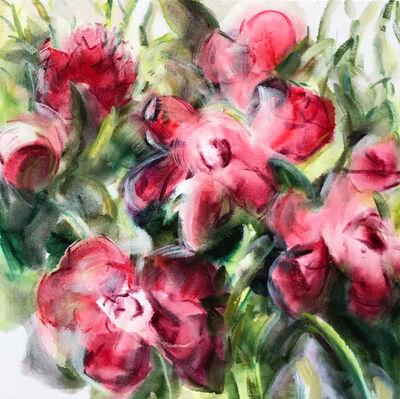 Jamie Evrard, 'Garden Study in Crimson', 2018