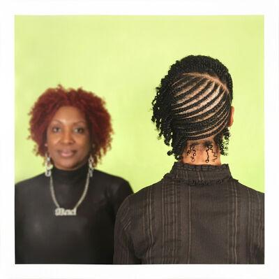 Sonya Clark, 'Hair Craft Project with Anita', 2014