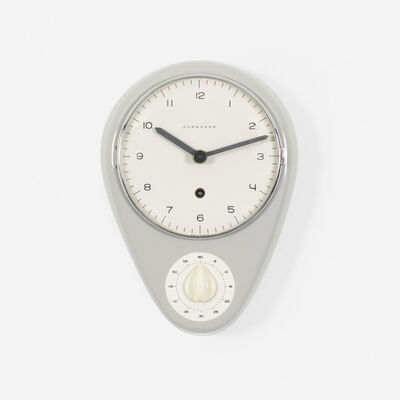 Max Bill, 'wall clock with timer', 1954