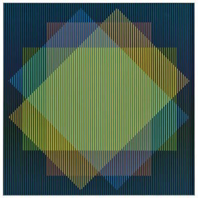 Carlos Cruz-Diez, 'Color Aditivo Titi', 2015