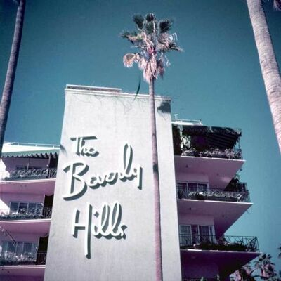 Slim Aarons, 'Slim Aarons Beverly Hills Hotel (Slim Aarons Estate Edition)', 1957