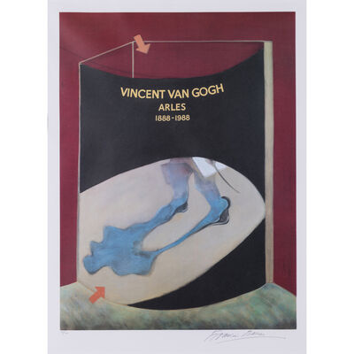 Francis Bacon, 'Hommage to Vincent Van Gogh', 1989