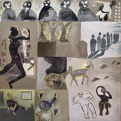 Sandiry Niang, 'Hommage aux déplacés 3', 2017