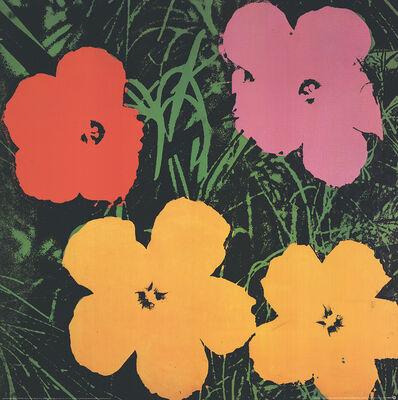 Andy Warhol, 'Flowers (Lg)', 1993