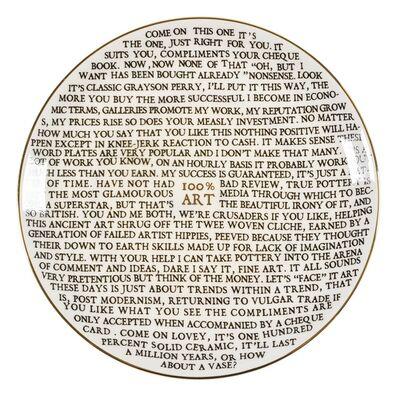 Grayson Perry, '100% Art', 2020