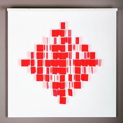 Julio Le Parc, 'Mobile Losange Rouge', 2018