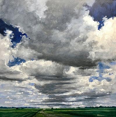 Billy Solitario, 'Dark Clouds Above Cane Fields'