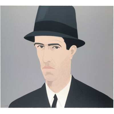 Alex Katz, 'Alex Katz, Self-Portrait (Passing)', 1990