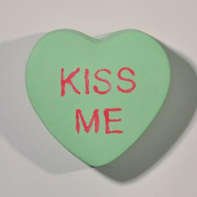 Peter Anton, 'KISS ME - Conversation Candies - Green', 2019