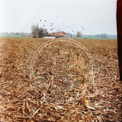 Dianne Bos, 'Cornfield Constellation Near Passchendaele France', 2014