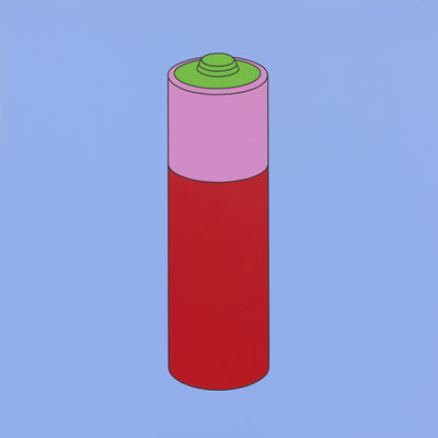 Michael Craig-Martin, 'Untitled (battery)', 2014