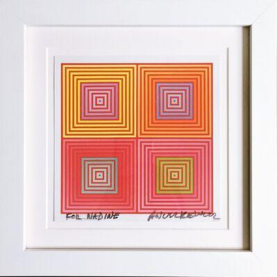 Richard Anuszkiewicz, 'Four on Four (Hand Signed)', 2013