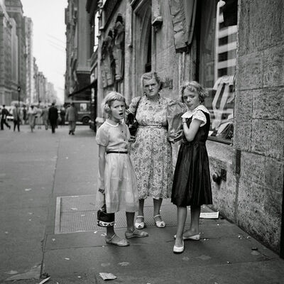 Vivian Maier, '0104545, Untitled, C. 1950's 3 Women on the Street ', ca. 1950