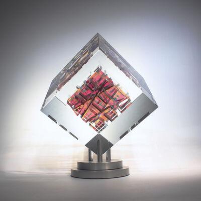 Toland Sand, 'Indigos Cube', 2018