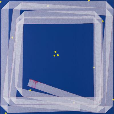 Noel Dolla, 'Plis et replis suite bleue'