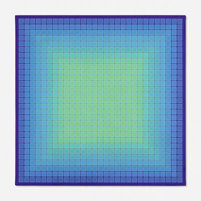 Julian Stanczak, 'Conservative Green: Minus', 1979