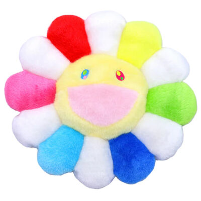 Takashi Murakami, 'Flower Cushion (Rainbow/White)', 2020