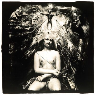 Joel-Peter Witkin, 'Christ in Glory, New Mexico', 1982