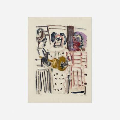Romare Bearden, 'Gospel Trio', c. 1980