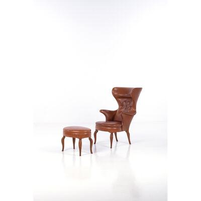 Frits Henningsen, 'Ottoman and armchair'