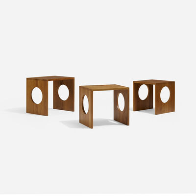 Jens H. Quistgaard, 'Nesting Tables, Set of Three', 1981