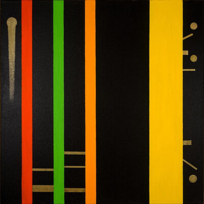 Osvaldo Mariscotti, 'Untitled Black 15', 2015