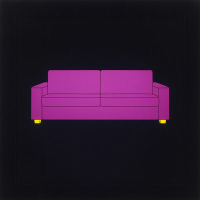 Michael Craig-Martin, 'Sofa', 2013