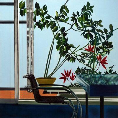 Eamon O'Kane, 'Villa Tugenhadt With Blue Table (Mies Van De Rohe)', 2019