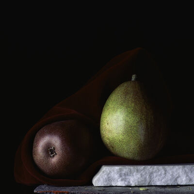 Paul Cary Goldberg, 'Still Life with Two Pears'
