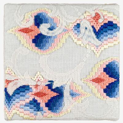 Cecilia Charlton, 'Triple-layer Gather-gusset (Yellow-Pink-Blue Pomegranates) ', 2019
