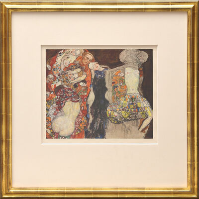Gustav Klimt, 'Brautzag (unvollendet).', 1931