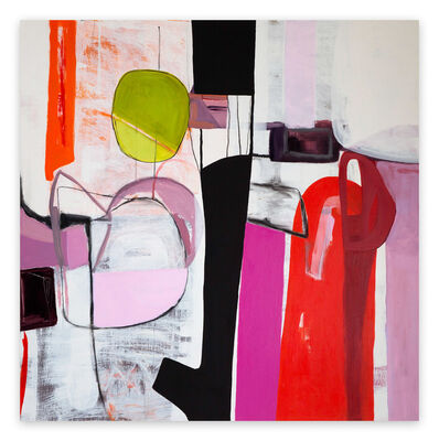 Irene Nelson, 'Tempo (Abstract painting)', 2019