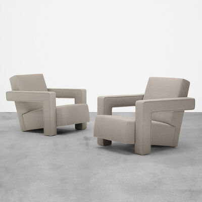 Metz & Co., 'lounge chairs, pair', c. 1960