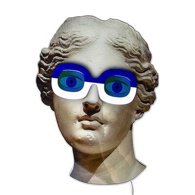 Electroboutique (Aristarkh Chernyshev/Alexei Shulgin), 'Aphrodite with glasses', 2015