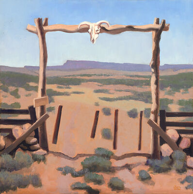 "Gary Ernest Smith, '""Gateway to the West""', 2018"