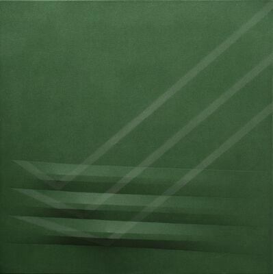 Agostino Bonalumi, 'Verde', 1979