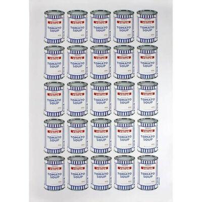 Banksy, 'Tesco Soup Cans', 2010