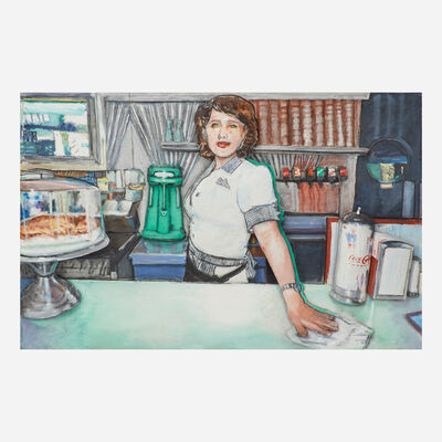 Larry Rivers, 'Deco Diner II', 1996