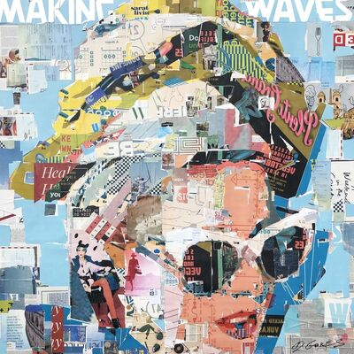 Derek Gores, 'Making Waves', 2019