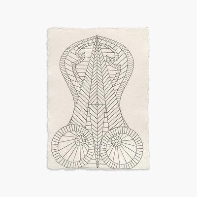 Helen Rebekah Garber, 'Monolith Study II', 2018