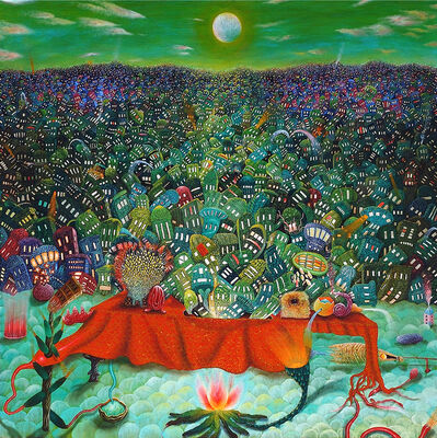 Rahul Chauhan, 'A Gaiety Spectacle of an Intense Panorama', 2014