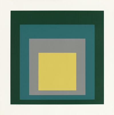 "Josef Albers, 'SP VI (from the portfolio ""SP"")', 1967"
