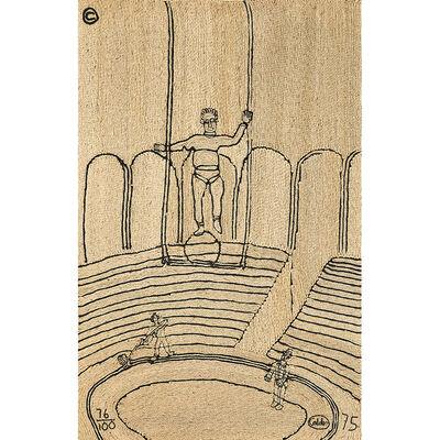 """After Alexander Calder, 'Maguey fiber wall hanging, """"Circus,"""" Guatemala', 1975"""