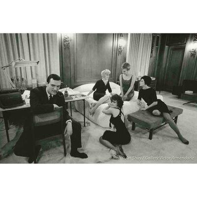 Art Shay, 'Hefner in Bedroom Office, 1961', 2017